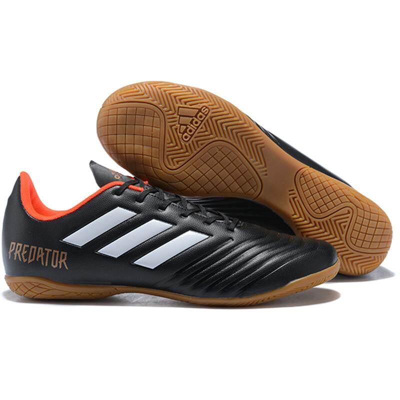 (TF ขนาด 39-45)Futsal ผู้ชายรองเท้าฟุตซอลกีฬารองเท้าสตั้ดหญ้าเทียมสนามรองเท้าฟุตบอลการฝึกอบรมกีฬารองเท้าฟุตบอล