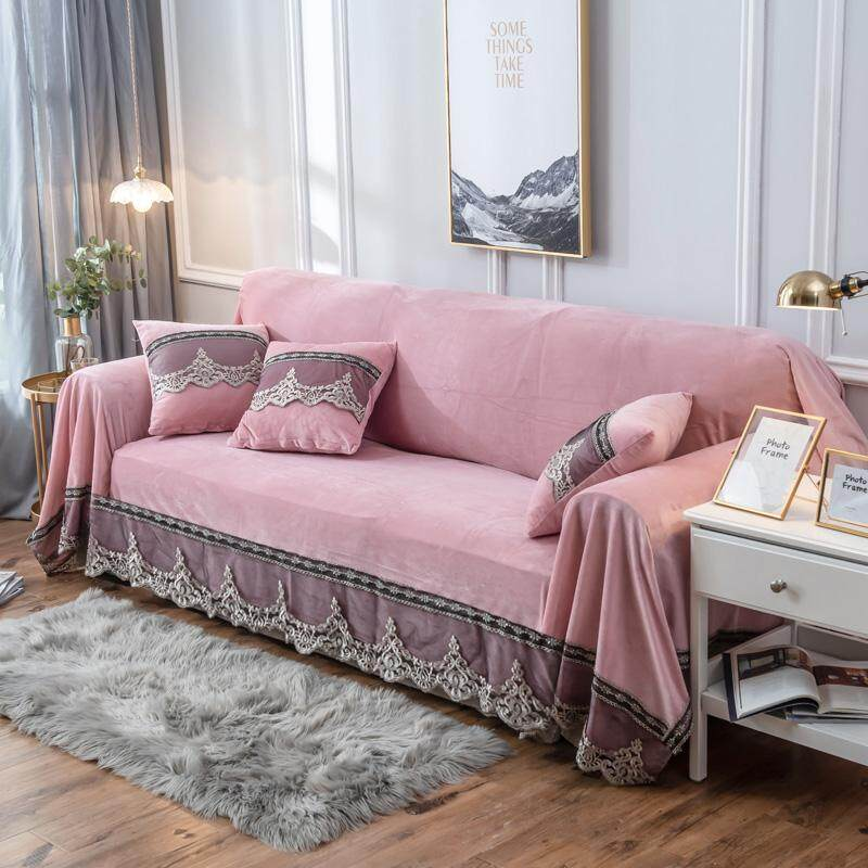 European Style Sofa Pad Case Cover Towel Cloth Cover Full Cover Minimalist Modern Sofa Cover All Edges Included Non-Million Can Case Universal Sofa Cover Cloth