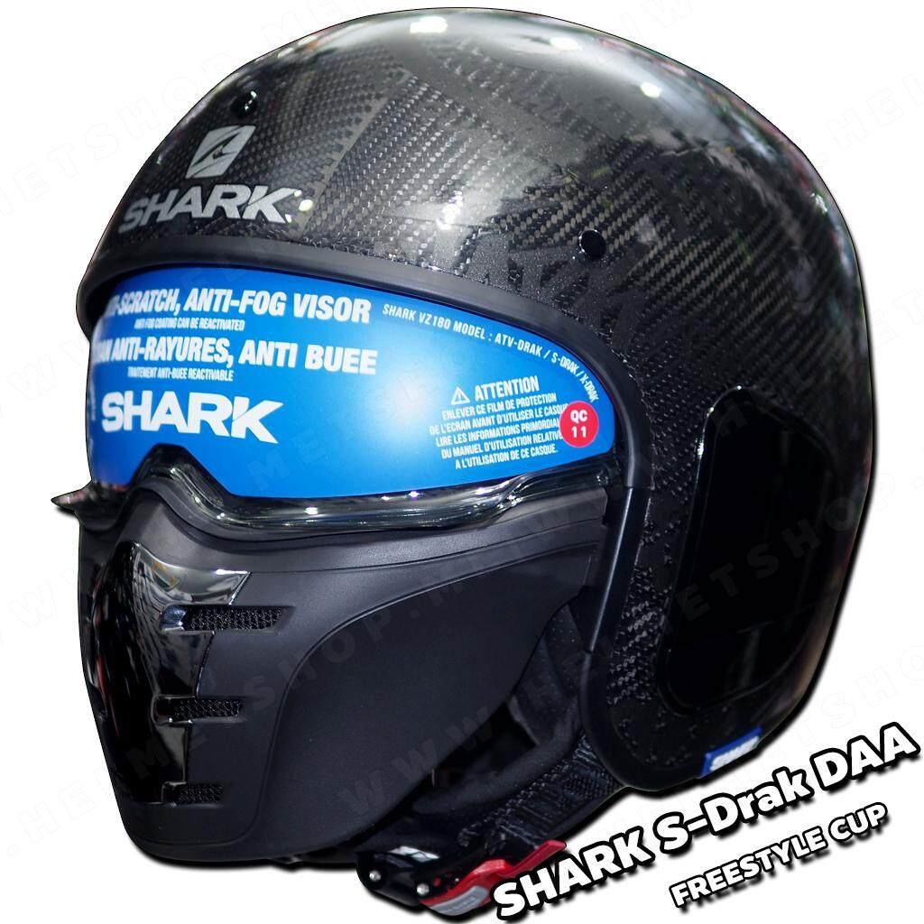 SHARK S-Drak Carbon Fiber รองรับการติดตั้ง Bluetooth
