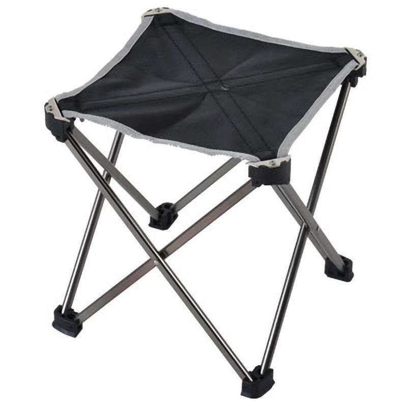 Bảng giá Outdoor Sports Camping Folding Chair 7075 Aluminum Folding Fishing Chair Ultra Light Portable Mini Seat Leisure Outdoor Chair Medium Gray