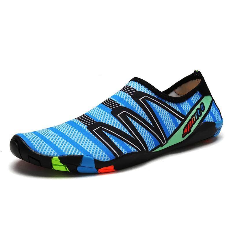 SUN รองเท้าผ้าใบชาย/หญิง สำหรับใส่ว่ายน้ำ โยคะ ดำน้ำ แห้งเร็ว No.186