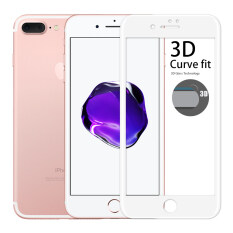 ขาย Cessory ฟิล์มกระจกนิรภัย 3D เต็มจอ คลุมขอบ Iphone 7 Plus 5 5นิ้ว 26Mm 2 5D ขอบมน สีขาว