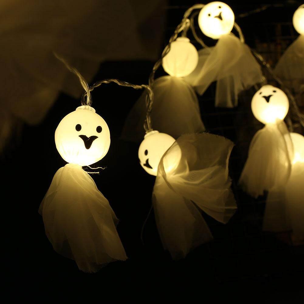 Đèn Led Dây Ma Dáng Búp Bê Halloween Trang Trí Nhà Ngày Lễ Chiếu Sáng 7LM