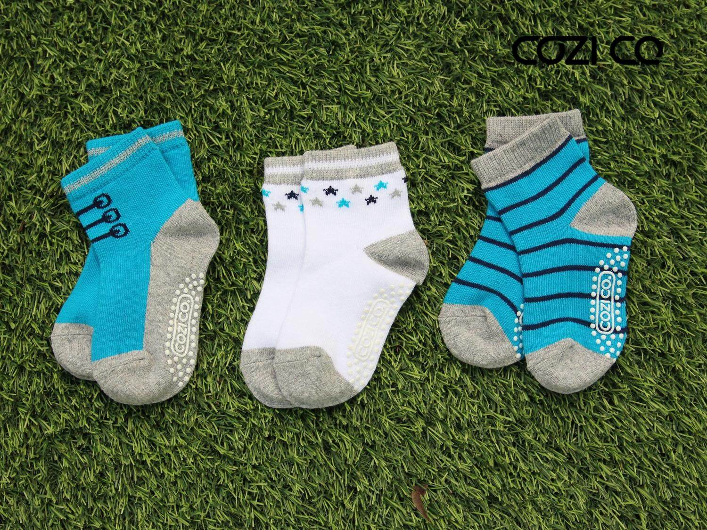 Cozi Co. ถุงเท้าแฟชั่นเด็ก (ชาย) - 3 Pairs By Cozi Co..