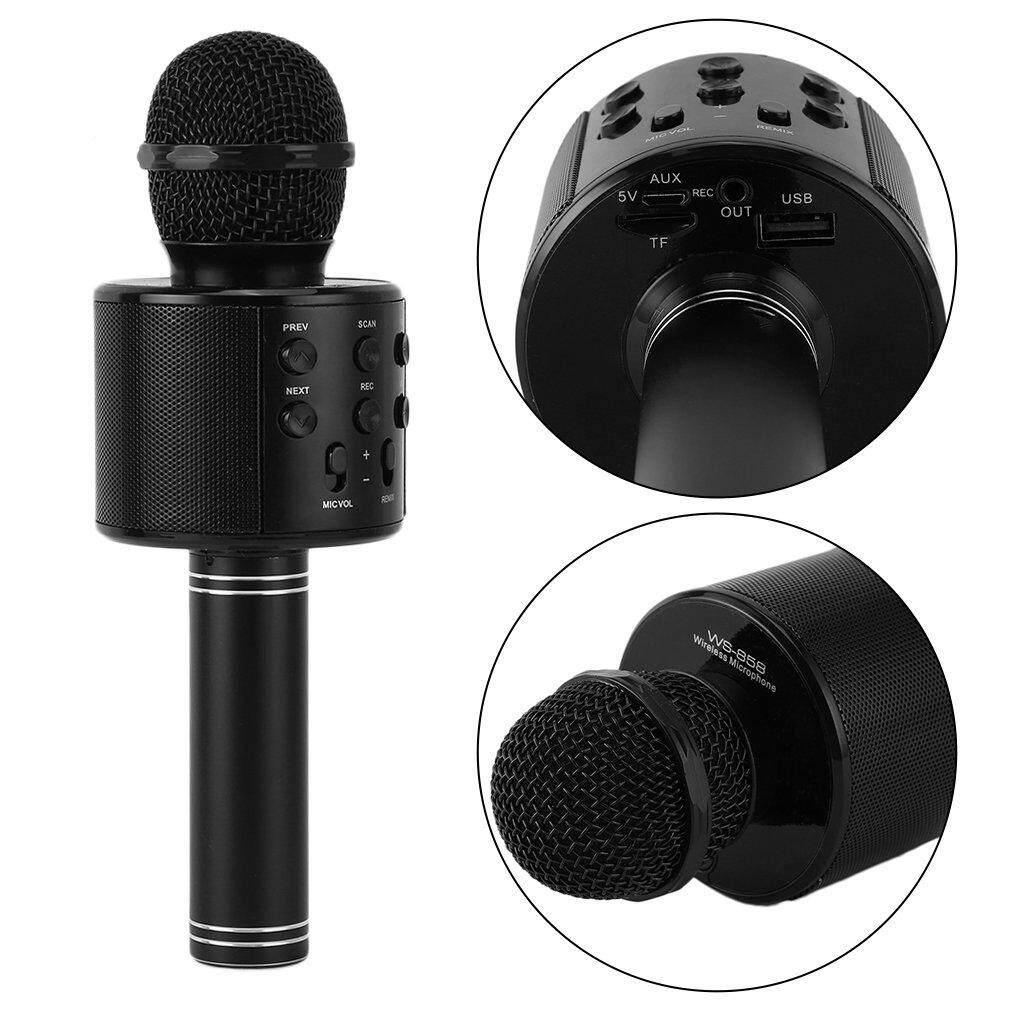 รุ่นws858 Wirless Microphone Karaoke ลำโพง ไมค์ ไมค์ลอย ไมค์ไร้สาย คาราโอเกะ บลูทูธ ( มี 6 สีให้เลือก ) By Electronic Commerce.