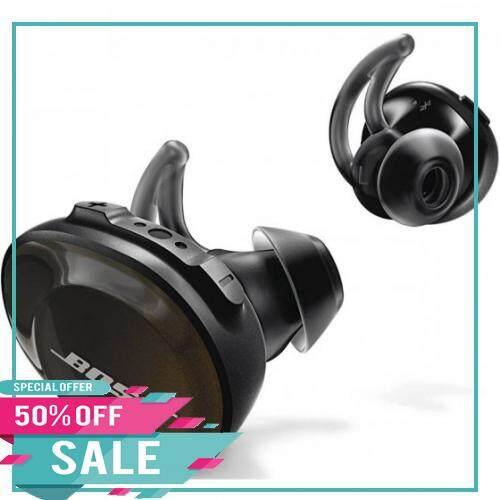 ของแท้แน่นอน Bose หูฟังไร้สาย (สีดำ) รุ่น Soundsport Free Destiny Rectangle.
