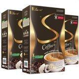 โปรโมชั่น Chame Sye Coffee Plus 10ซอง กาแฟลดน้ำหนัก กระชับสัดส่วน 3 กล่อง ไทย