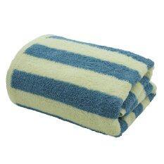 ราคา Chapeau ผ้าเช็ดตัว ขนาด 30 X 60 นิ้ว สีน้ำเงิน ครีม เป็นต้นฉบับ