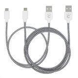 ขาย ซื้อ Cheero Fabric Braided Usb Cable With Micro Usb 50 100Cm Set