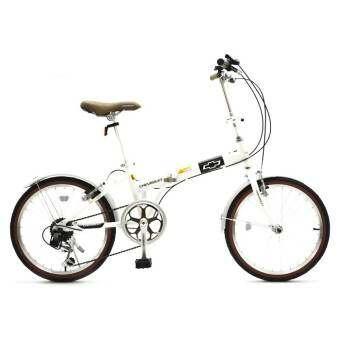 Chevrolet Folding bike จักรยานพับได้ รุ่น C2007 Vintage (สีขาว)