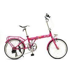 Chevrolet Folding Bike จักรยานพับได้ รุ่น Classic 2007A สีชมพู กรุงเทพมหานคร