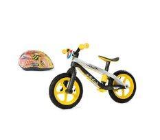 ซื้อ Chillafish Bmxie จักรยานทรงตัว สีเหลือง Elise หมวกจักรยานเด็ก Size S สีส้ม ถูก