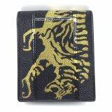 ขาย Chinatown Leatherกระเป๋าเงินหนังกระเบนต่อลายเสือสีเหลือง ออนไลน์ ใน กรุงเทพมหานคร