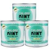 ราคา Chloro Mint คลอโรมิ้นต์ ผลิตภัณฑ์เสริมอาหารคลอโรฟิลล์ ล้างสารพิษในร่ายกาย 100กรัม 3 กระปุก ออนไลน์
