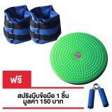 ราคา ชุด จานทวิส ใหญ่ กับ ถุงทรายข้อเท้า 3Lb Twist Disc L With Ankle Weight 3Lb ที่สุด