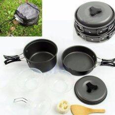 โปรโมชั่น ชุดครัวอุปกรณ์แคมปิ้ง 6ใน1 6 In 1 Mini Outdoor Cooking Picnic Tools Set Black 6 In 1 Mini Outdoor Cooking Picnic Tools Set Black รุ่น Sy 200 ถูก