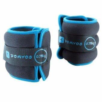 ชุดสนับถ่วงน้ำหนัก อุปกรณ์ถ่วงน้ำหนักใช้ได้ทั้งแขนและขา สายรัดถ่วงน้ำหนักข้อมือและข้อเท้า 0.75 kg x 2 ชิ้น