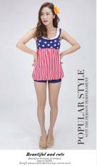 ราคา ชุดว่ายน้ำ2Pieceลายธงชาติ ใหม่ล่าสุด