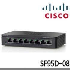 ขาย Cisco Sf95D 08 As 8 Port 10 100 Desktop Switch Black By Ingram ออนไลน์ ใน กรุงเทพมหานคร