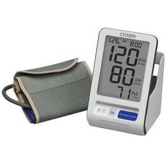 Citizen เครื่องวัดความดันโลหิตดิจิตอล CH-456 (แถมฟรี Citizen Adapter และแปรงซอกฟัน 10 ชิ้น)-