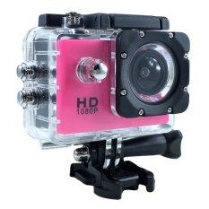 "Ck Mobile Sport Action Camera 2.0"" LCD Full HD 1080P No WiFi (สีชมพู)"