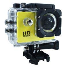 "Ck Mobile Sport Action Camera 2.0"" LCD Full HD 1080P No WiFi (สีเหลือง)"