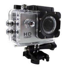 """Ck Mobile Sport Action Camera 2.0"""" LCD Full HD 1080P No WiFi (สีเงิน)"""