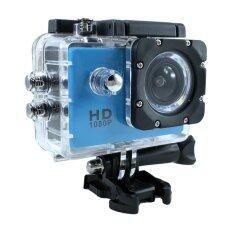 "Ck Mobile Sport Action Camera 2.0"" LCD Full HD 1080P No WiFi (สีฟ้า)"
