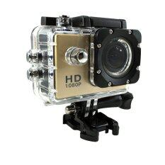 "Ck Mobile Sport Action Camera 2.0"" LCD Full HD 1080P No WiFi (สีทอง)"