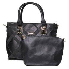 ซื้อ Classy กระเป๋าถือ กระเป๋าแฟชั่น รุ่น 9006 Black Classy ถูก