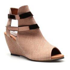 ซื้อ Classy รองเท้าแฟชั่นผู้หญิง รุ่น 10 023 Brown ออนไลน์