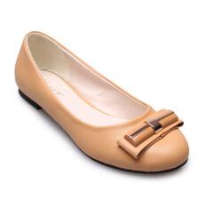 Classy รองเท้าแฟชั่นผู้หญิง รุ่น Hz629 2039 Beige ใหม่ล่าสุด