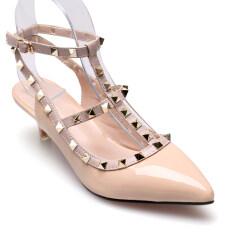 Classy รองเท้าแฟชั่นผู้หญิง รุ่น Hz712 6 Beige ใหม่ล่าสุด