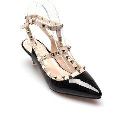 ส่วนลด Classy รองเท้าแฟชั่นผู้หญิง รุ่น Hz712 6 Black Classy กรุงเทพมหานคร