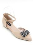 ราคา Classy รองเท้าผู้หญิง รองเท้าแฟชั่น รุ่น 685 1 Beige ถูก
