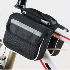 Cma กระเป๋าพาดเฟรมจักรยาน - สีดำ By Cma.