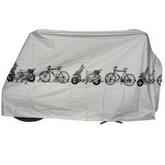 ขาย Cma ผ้าคลุมจักรยาน Bike Rain Dust Cover Gray Cma ออนไลน์
