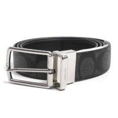 ราคา Coach เข็มขัด One Size Reversible Signature Grey Belt รุ่น 64825 สีเทา Coach ออนไลน์