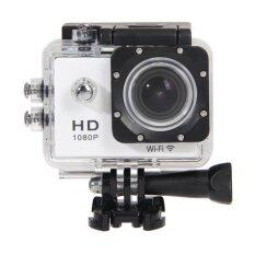 Coco Sports & Action Camera HD 1080p +WIFI+Tachograph Car Camera กล้องกีฬา ( ขาว )