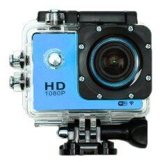 Coco Sports & Action Camera HD 1080p +WIFI+Tachograph Car Camera กล้องกีฬา ( สีน้ำเงิน )