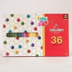 โปรโมชั่น Colleen สีไม้ด้ามยาว 36 สี 36 ด้าม ถูก