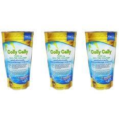 ขาย Colly Cally คอลลาเจนชนิดแกรนูล 75 000 Mg Fish Collagen 100 แพ็ค3ห่อ ใหม่