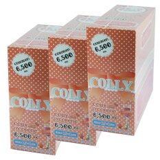 ขาย Colly Lycopene Plus คอลลี่ ไลโคปิน พลัส คอลลาเจน อาหารเสริมเพื่อผิวขาว 6 500 มก ขนาดบรรจุกล่องละ 15 ซอง 3 กล่อง ออนไลน์