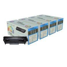 ซื้อ Color Box ตลับหมึกเลเซอร์ Hp Cp1025 แพ๊ค 4 ตลับ สีดำ ฟ้า แดง เหลือง Color Box เป็นต้นฉบับ