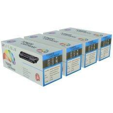 ราคา Color Box ตลับหมึกเลเซอร์ Samsung Clt 406S K C M Y Clp 360 Clp 365 Clp 365W Clp 368 สีดำ สีฟ้า สีแดง สีเหลือง 4 ตลับ เป็นต้นฉบับ