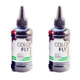 Colorfly หมึกเติม Brother เกรดA สีดำ 100Ml 2ขวด Black ใหม่ล่าสุด