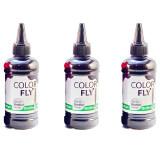 Colorfly หมึกเติม Brother เกรดA สีดำ 100Ml 3ขวด Black Colorfly ถูก ใน กรุงเทพมหานคร