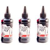 ส่วนลด Colorfly หมึกเติม Canon เกรดA สีดำ 100Ml 3ขวด Black