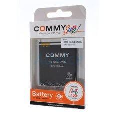 Commy แบตเตอรี่มือถือ Samsung Galaxy S4 Galaxy Grand 2 2 600 Mah I9500 Black เป็นต้นฉบับ