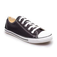 ราคา Converse รองเท้าผ้าใบ ผู้หญิง รุ่น All Star Dainty Ox Black 11100D100Bk Black เป็นต้นฉบับ